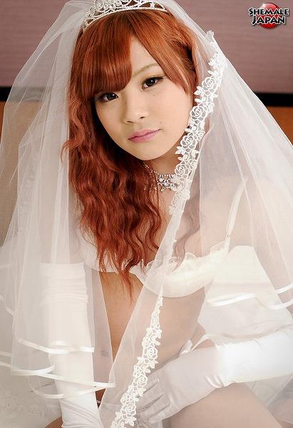 Horny Bride Sayaka SHEMALEJAPAN Sayaka Ayasaki